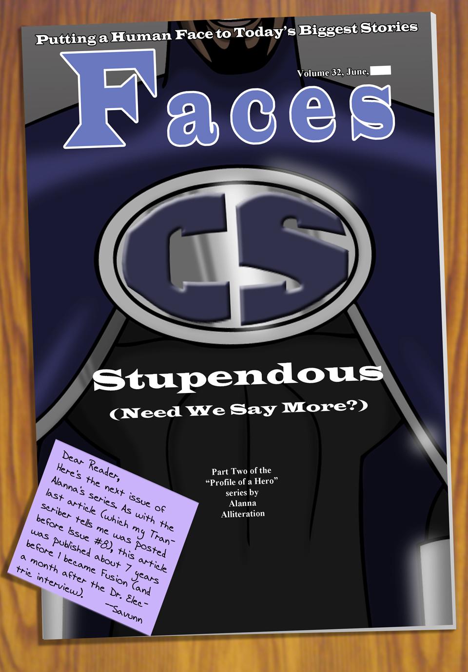 Interleude--Faces Magazine Interview 2 Cover
