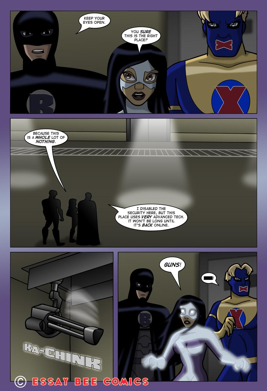 essay bee comics fusion