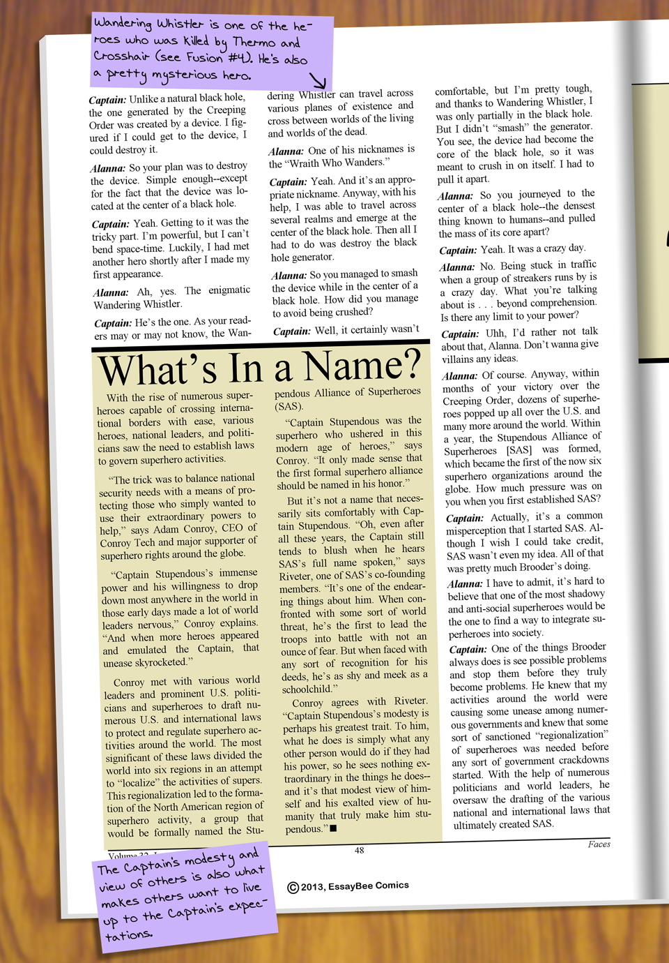 Interleude--Faces Magazine Interview 2 Page 05