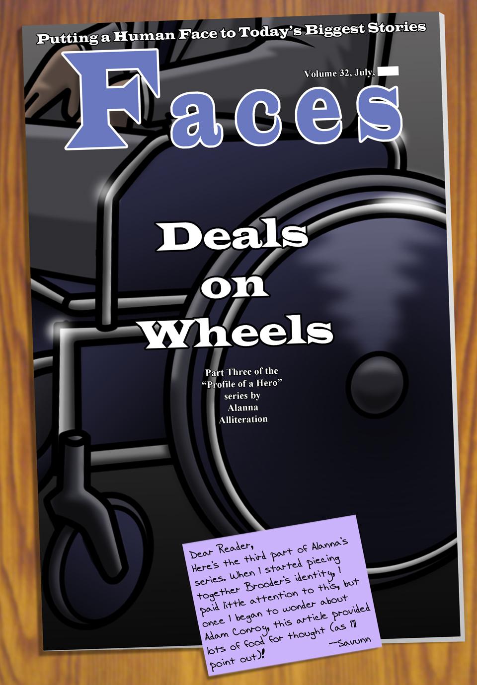 Interleude--Faces Magazine Interview 3 Cover