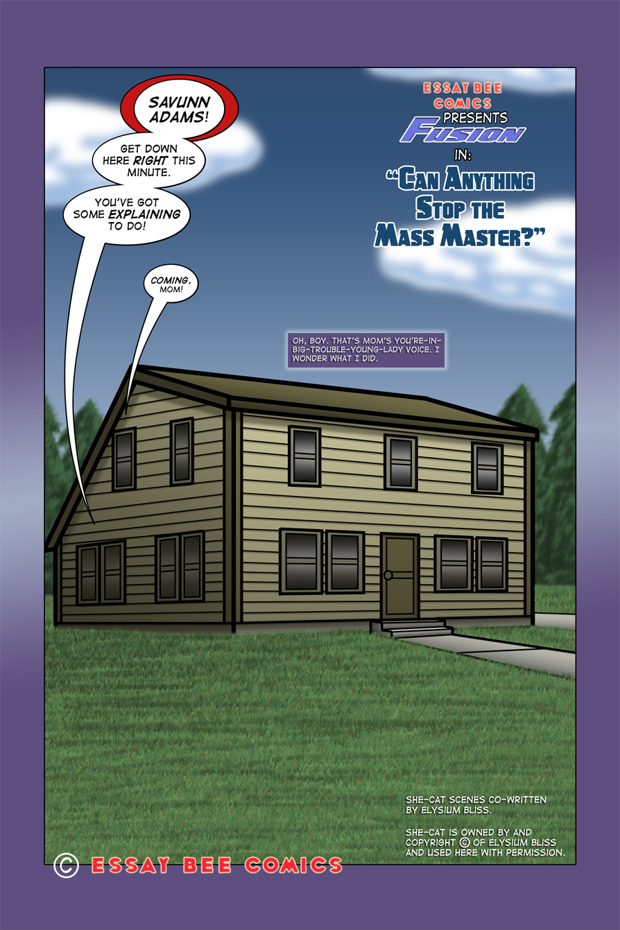 Fusion #7 Page 1